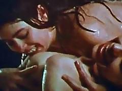 Hot 1970s lesbians fucking in the rain