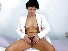 Sexy Milf In Nurse Uniform Stret...