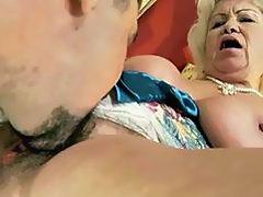 Naughty granny gets fucked pretty hard